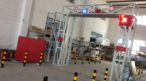 Система скеннирования корабля контейнера Safeway Систем-Фикчированная для взрывчатки, оружий