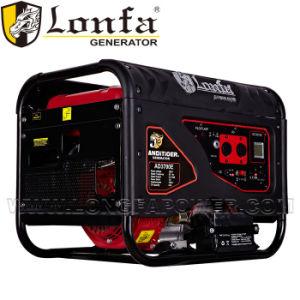 generatore portatile a benzina del generatore silenzioso di 5kw 380V
