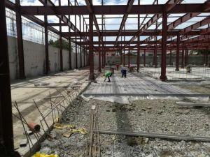 Estructura de acero prefabricada almacén logístico de construcción con gran descuento
