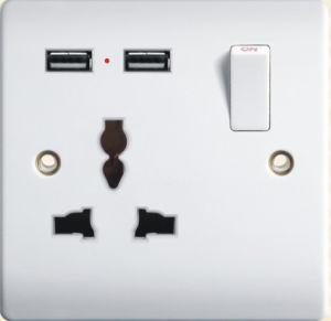 La norme britannique 13une clé USB prise commutée G