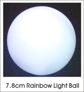 Arco Iris LED Bola de color