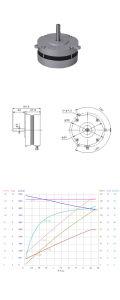 UL 90W 4800rpm elevado par motor de bomba de compresión de CC