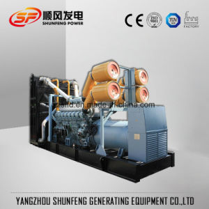 La alta calidad 1250kVA 1000kw de potencia del Generador Diesel Mitsubishi con CE