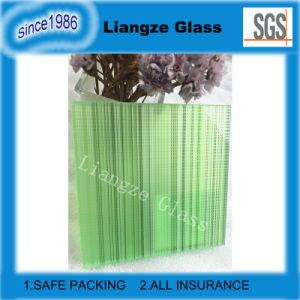 Aangepast Natuurlijk Groen Gekleurd Gelamineerd Glas