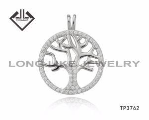 925銀製の宝石類の木のペンダントの新しい到着の生命