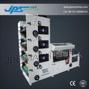 Etiqueta de quatro cores máquina de impressão Letterpress