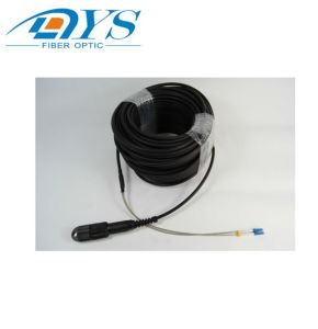 Cpri Ftta impermeable al aire libre General Cable de fibra óptica Cable de conexión de fibra