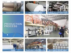 Document van de Sublimatie van de Overdracht van de Hitte van de Polyester 70GSM 100GSM van de fabriek het In het groot
