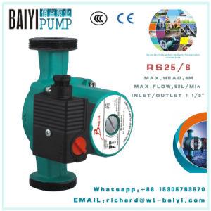 Pompa circolatore RS25/6 dell'acquazzone freddo dell'acqua calda per il riscaldamento di pavimento