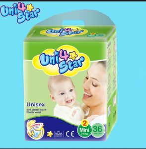 De beste Verkopende die Luier van het Product, de Verdelers van de Luier in Afrika, de Luier van de Baby worden gewild