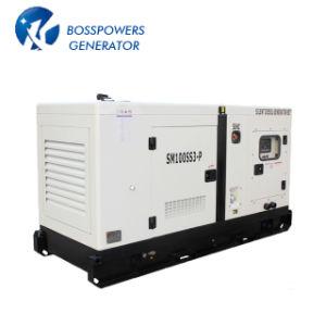 Gruppo elettrogeno diesel silenzioso di marca BRITANNICA diretta di vendita 125kVA della fabbrica