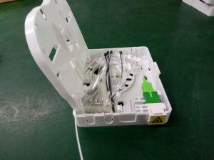 Los paneles de toma de FTTH/Caja de distribución de fibra óptica de la caja de bornes