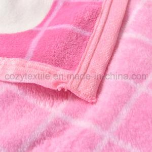 Coperchio della coperta del panno morbido della flanella della banda di amore/sofà della base