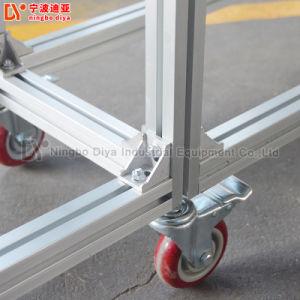 Порошка ПВХ ременный конвейер ленточный транспортер алюминиевого профиля для рабочего совещания