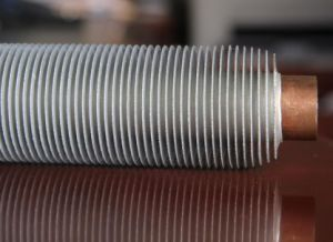 ひれ付き管、空気クーラーのためのステンレス鋼