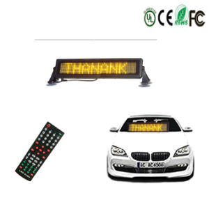 Синий светодиодный индикатор прокрутки Adervitising знак автомобилей знак дисплея