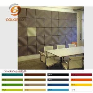 De verschillende Kleur kiest het Akoestische Product Manufactor van het Comité van de Muur 3D