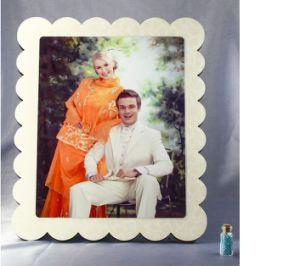 カスタマイズされた家族写真フレームのブランクの昇華MDFの額縁のホーム装飾