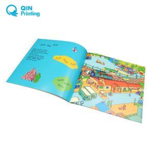 フルカラーの薄紙表紙の児童図書の印刷
