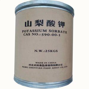 Haute qualité à faible prix du sorbate de potassium 590-00-1 de la Chine usine Agent de conservation des aliments