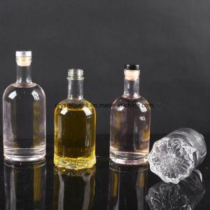 330ml 500ml de pedra garrafa de vinho de frutos de vidro com tampa de cortiça
