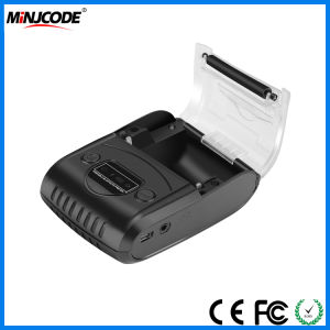 Móvil Bluetooth 58mm de recepción térmica Impresora portátil Bluetooth y USB Impresora de recibos de etiqueta, el apoyo Android y Ios, MJ5808