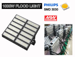 Sport Field Lightingのための300With400With500With600With700With800With1000With1200W High Power LED Floodlight