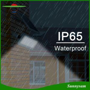 12With30W太陽洪水ライト65LED屋外のパスの緊急の太陽庭の壁ライト