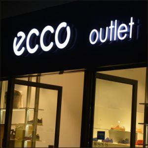 LED de signalisation lumineux extérieur acrylique lettre signer