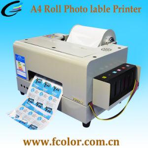 A4 de MiniMachine van de Druk van de Sticker van de Kleur met Inkt Op basis van water