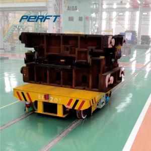 Carrello elettrico ferroviario di trasporto della fabbrica per il trattamento del tubo d'acciaio