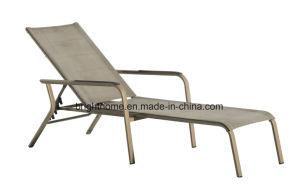 Textilene im Freienwagen-Aufenthaltsraumsun-Nichtstuer-Aluminiumpooldaybed-Möbel