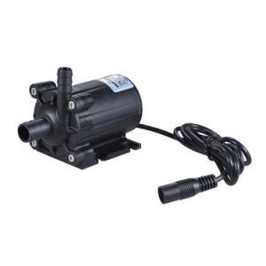 Mikromusik-Brunnen-fließen energiesparender Wasser-Wasserfall-Fertigkeit-Pumpe Gleichstrom 24V 600L/H