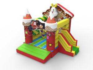 La navidad de la casa de rebote Combo de inflables Chb1227