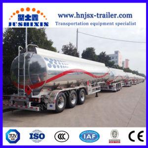 Adr Norm 3 Assen BPW 42000 van het Aluminium van de Legering Van de Stookolie Liter Aanhangwagen van de Tanker van de Semi met het Voor Opheffen van de As