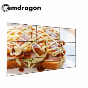 3X3 영상 벽 49 인치 인조 인간 접촉 정보 전시 LED 디지털 Signage LED 모니터 가득 차있는 HD 전시 버스 광고 매체 스크린