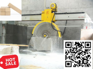 Sierra de puente Multiblade Cortadora de bloque de mármol y granito para cortar - China Máquina de corte de piedra en venta