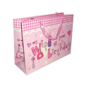 Joyeux Noël cadeau imprimé OEM Les sacs en papier pour la promotion (YH-PGB059)