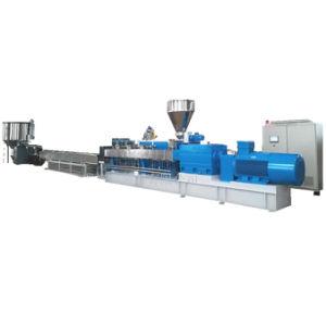 Extrusión de doble tornillo máquina de fabricación de pellets de plástico