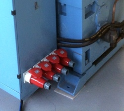 Profil PVC extrudeuse