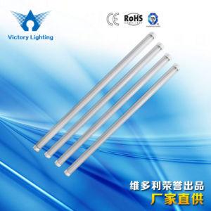 tubo dell'indicatore luminoso fluorescente LED di 2FT/3FT/4FT/5FT/6FT/8FT/600mm/900mm/1200mm/1500mm/1800mm/2400mm 8With9With10With12With14With15With16With18With20With22With24W PC/Nano/Alum T8 per i banchi