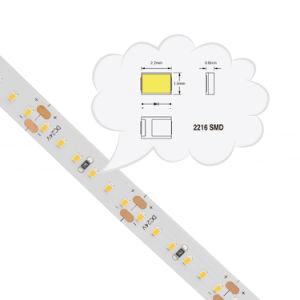 CRI>90 2216SMD LED de 168cc/M24V de las luces de Cinta de LED flexible