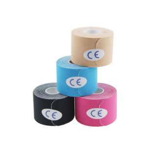 Cómodo y transpirable fuerte elasticidad Pre-Cut cinta Kinesiología deportiva