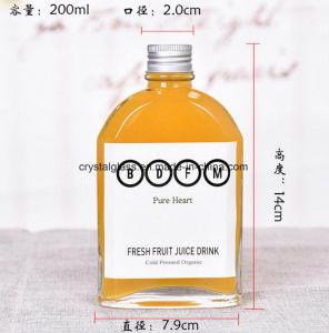 Firmenzeichen-Drucken-Getränkeglasalkohol-Flasche anpassen