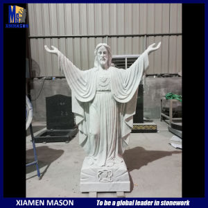 Europese Jesus Marble Stone Carving Sculpture