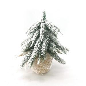 Le Père Noël Bonhomme de neige à l'usine de semoir Flower Pot en céramique
