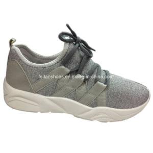 Última Mujer Zapatillas Dama Sneakers zapatos deportivos de inyección (YJ18514-3)