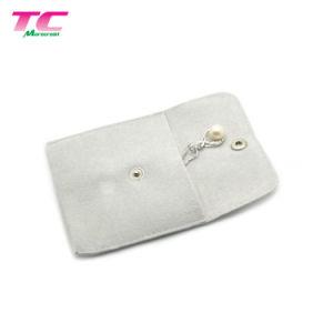 Joyería joyería personalizada bolsa pequeña bolsa con el botón de ajuste del organizador