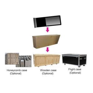 バンクのための人間の特徴をもつ対話型のタッチ画面のキオスクを立てるハイエンド床