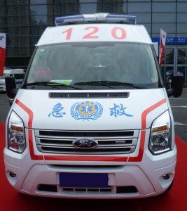 Ford! ! ! Emergency ICU Krankenwagen-Auto der leistungsfähigen Durchfahrt-/Krankenwagen für Verkauf Mslcy5
